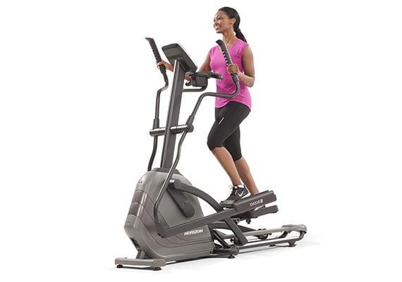 Elliptical horizon evolve elliptical fitness equipment