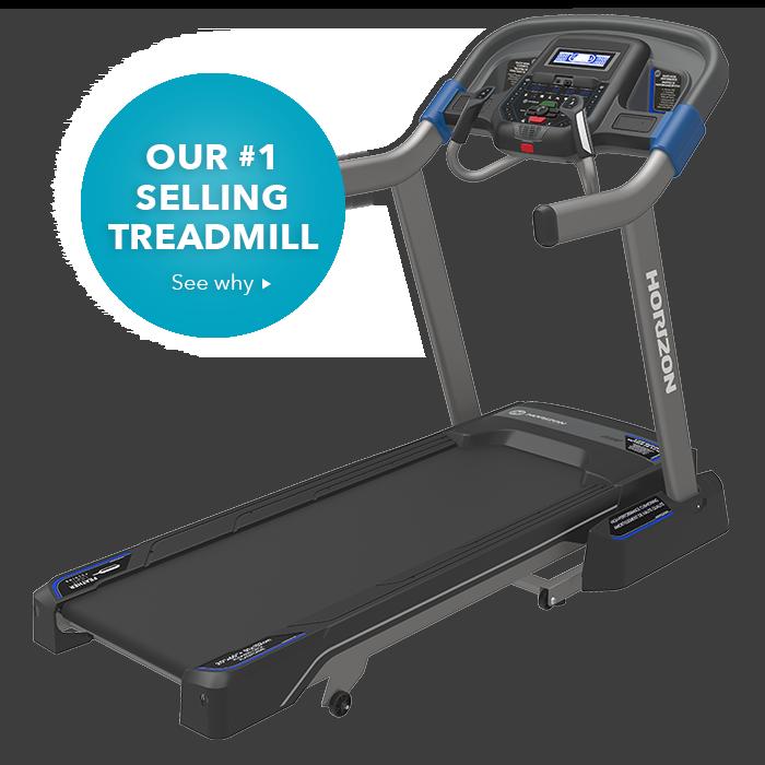Horizon Fitness Treadmill T50: Best Home Treadmills