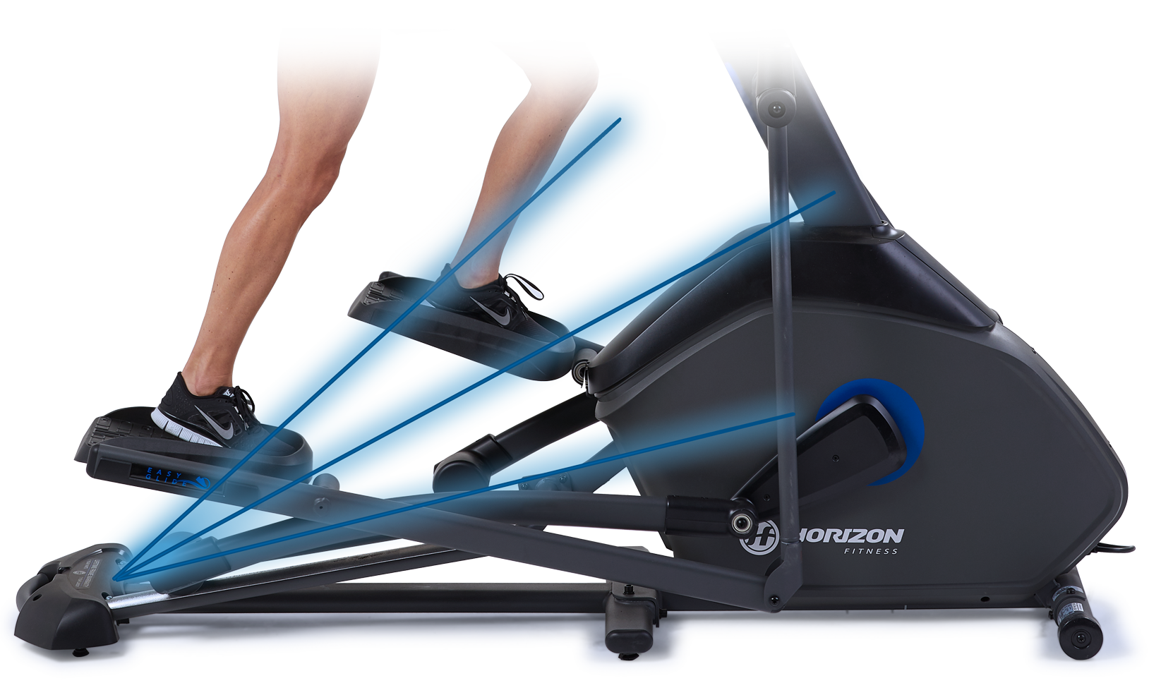 Horizon Elliptical Power Incline